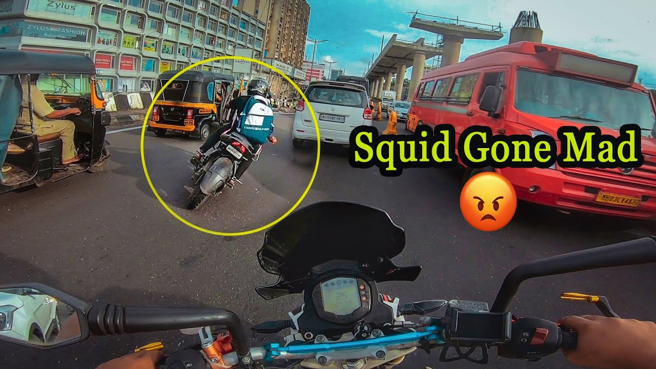 Download Crazy NS 200 Rider Gone Mad after seeing SuperBike 😠