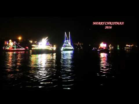 Lighted Boat Parade - K38 in Morro Bay December 2016