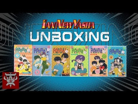 Unboxing the Ranma ½ Vintage VHS Season One Collector's Edition, Subtitled - Ian New Yasha