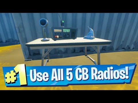 Use CB Radio Location - Fortnite (Foreshadowing Quest)