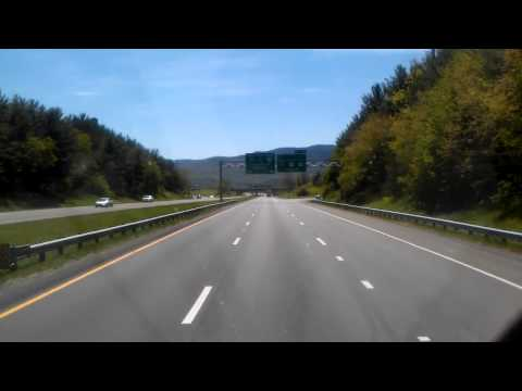 Interstate 77 South in Wytheville, Virginia