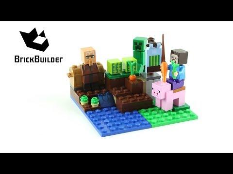 Lego Minecraft 21138 The Melon Farm - Lego Speed Build