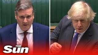 Keir Starmer Accuses Boris Of 'dodgy Answers' In Fiery Pmqs