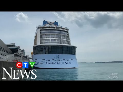 'Cruise to nowhere' cut short after COVID-19 diagnosis