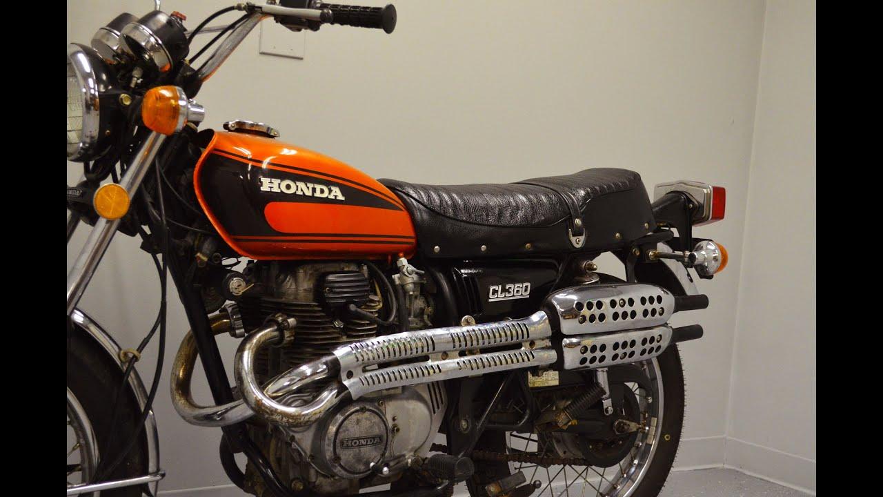 1975 Honda CL360 Scrambler