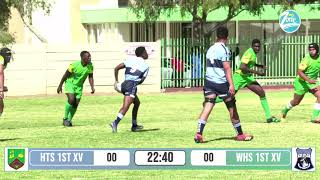 Highlights: HTS 1 vs WHS 1 U/19 - Friendly Rugby Game #MyZone #HTS #WHS #Schoolsrugby