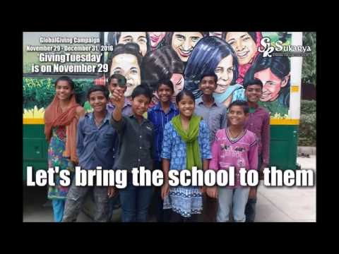Education on Wheels for slum children - Global Giving