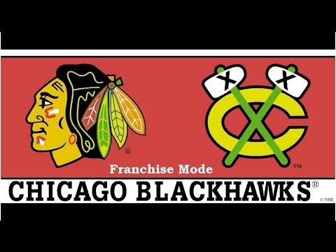 NHL 17 Franchise Mode Chicago Blackhawks Ep. 6 Wild V Blackhawks! Round 2!