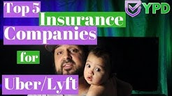 ✍Top 5 👔Insurance Companies for 🚗Uber and Lyft📝