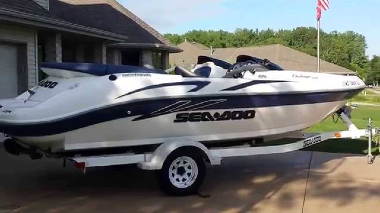 2001 Sea Doo Challenger 2000 Ebay No Reserve Auction Youtube