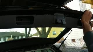 Снятие и установка обшивки двери багажника VW Golf 5 Variant