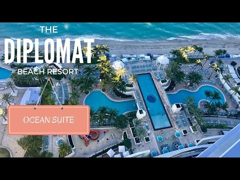The Diplomat Beach Resort - Ocean Suite Virtual Tour