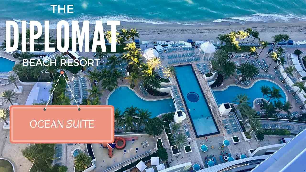 The Diplomat Beach Resort Ocean Suite Virtual Tour