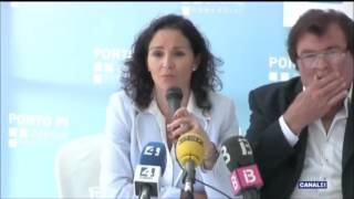 Rueda de prensa presentacion Jeux des Iles Mallorca 2016 Canal 4 17052016