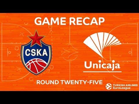 Highlights: CSKA Moscow - Unicaja Malaga