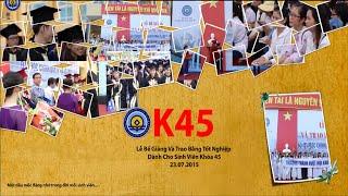 Lễ phát bằng tốt nghiệp sinh viên K45 Đại học Kinh tế Huế