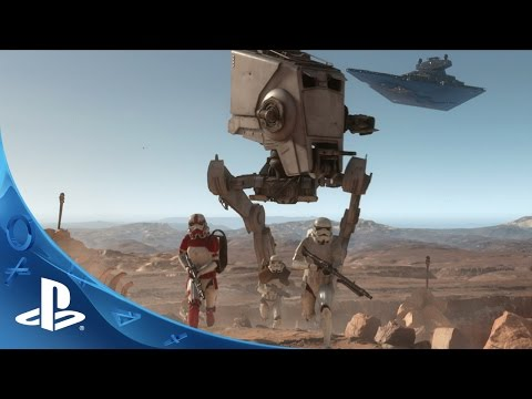 Star Wars Battlefront - E3 2015 Trailer | PS4