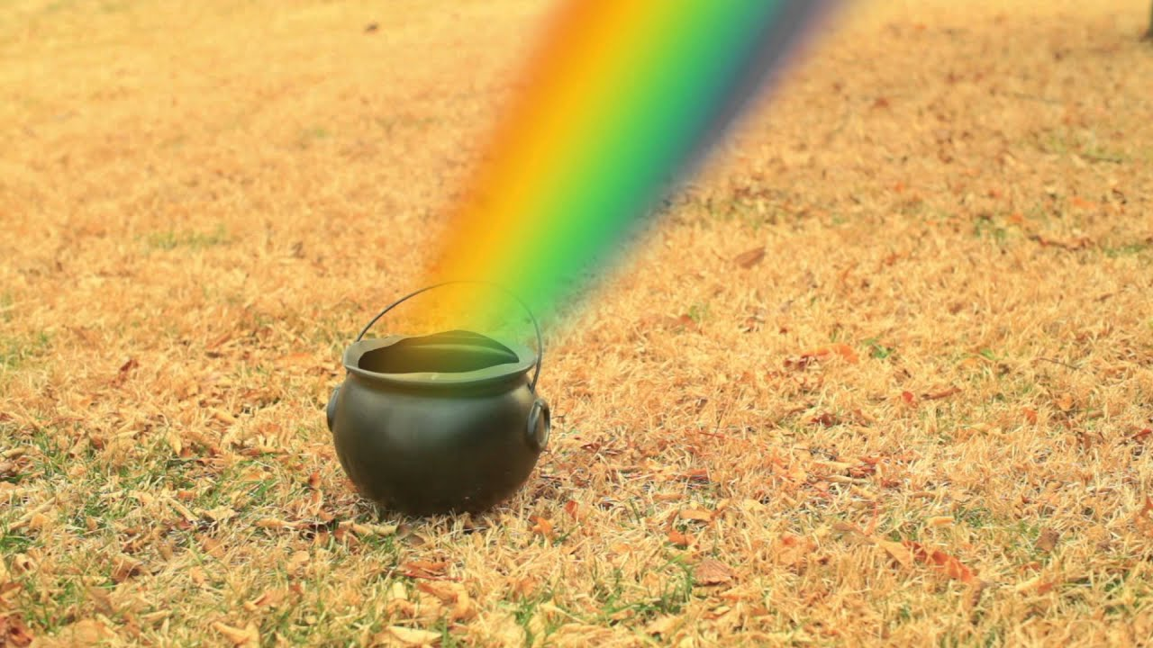 leprechaun gold pot of gold rainbow 412gyoc9 youtube