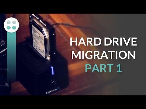Windows XP Hard Disk Migration — Part 1