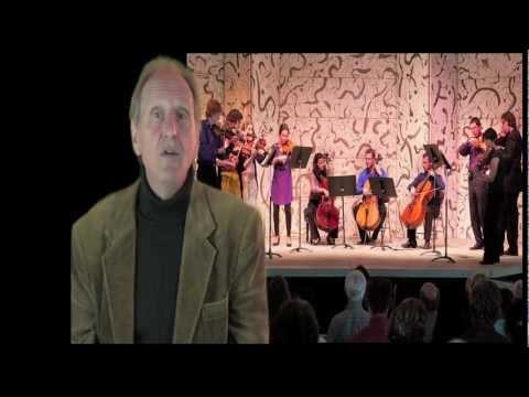 Mendocino Music Festival - Allan Pollack introduces Festival Chamber Orchestra, 2012