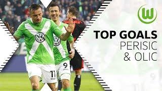 Die 5 besten Co-Produktoinen von Olic und Perisic   VfL Wolfsburg