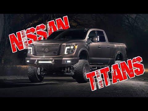 Custom Nissan Titan Inspiration Compilation *TRUCK MONTAGE*