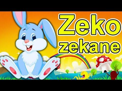 Zeko zekane - Pesmica za decu | Zec - Dečija pesma | Pesmice za decu o životinjama | Dečije pesme