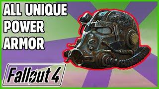 Fallout 4 - Unique Power Armor Guide (Vanilla)