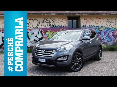 Hyundai Santa Fe 2014 Perch comprarla... e perch no