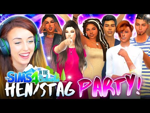 BACHELOR & BACHELORETTE PARTY!💋🎉 (The Sims 4 IN THE SUBURBS #54! 🏘) thumbnail