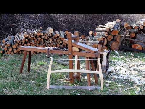 Peaceful Woodworking – Making a Frame Saw with Traditional Hand Tools