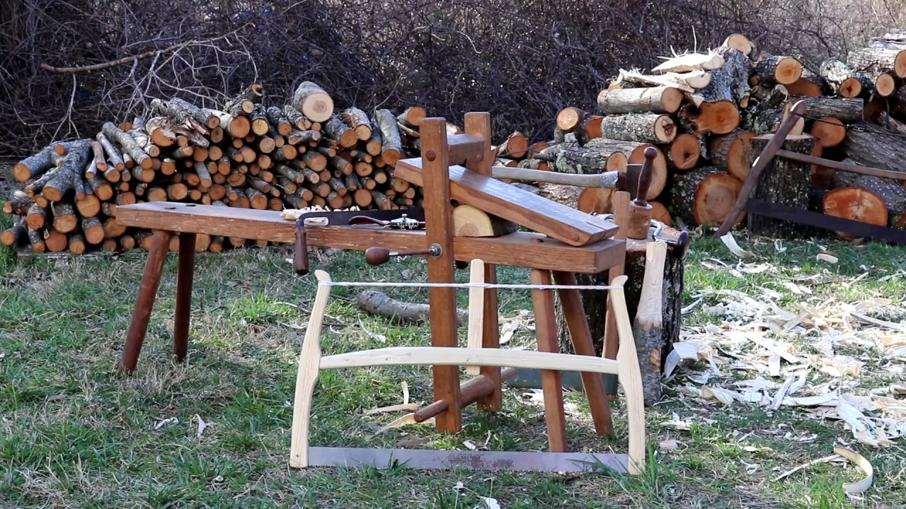 Peaceful Woodworking Making A Frame Saw With Traditional Hand