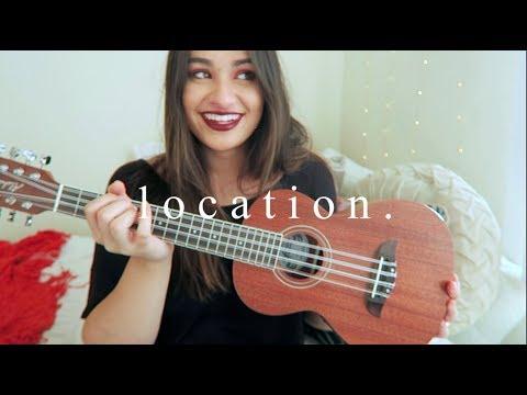 Location (Khalid) | Nicole Reneé Ukulele Cover