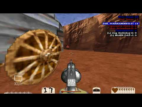 Outlaws Multiplayer - LucasArts Game - Team Deathmatch at Rogue Cheddar |