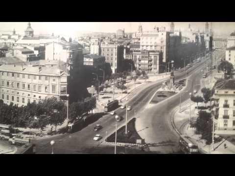 Zaragoza antigua foto del centro de la ciudad