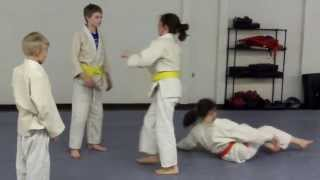 Judo - Youth Training At The Martial Art Fitness Center In Rochester, Mn