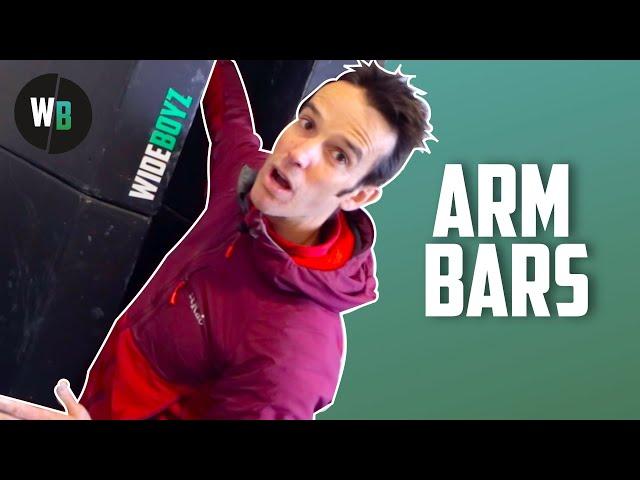 How to Arm Bar in offwidth cracks | Wide Boyz Crack School