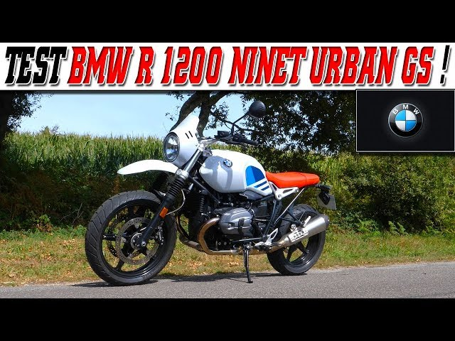 #MotoVlog 179 : TEST BMW R NINE T URBAN GS 1200 / Une moto Multi-facette ?