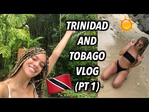 TRINIDAD AND TOBAGO VACAY VLOG (PT 1) | Camouflage is ILLEGAL??!!