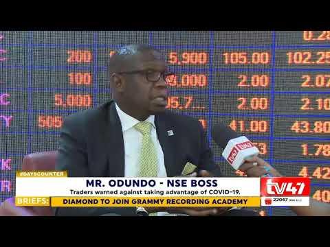 Nairobi Securities Exchange Reacts To COVID-19