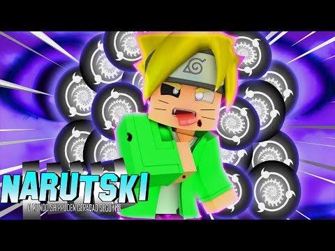 Minecraft: GENJUTSU DO SHARINGAN NEGATIVO !?! - Narutski (Boruto) #79 ‹ Goten ›