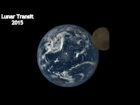 Earth from space - A Million Miles Away