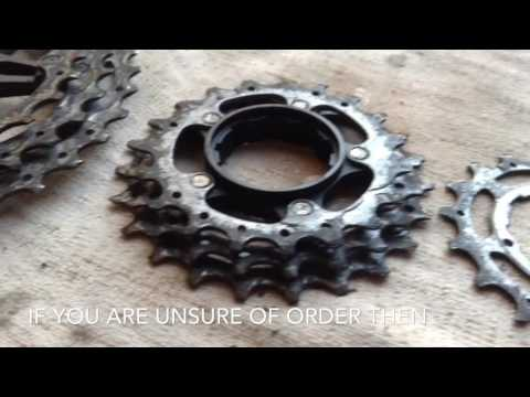 How To Clean A Bicycle Chain And Cassette