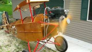 SECOND RUNUP OF CUSHWAY PIETENPOL AIR CAMPER WITH FORD MODEL A