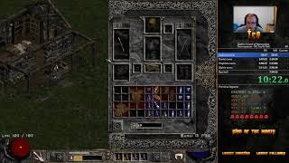 Diablo 2 Any% Hell HC Necro Speedrun 6:41:14 [WR]