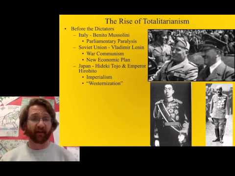 Rise and Characteristics of Totalitarianism