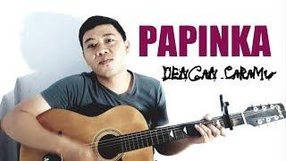 Papinka - Dengan Caramu (cover) with Simple Cord Gitar