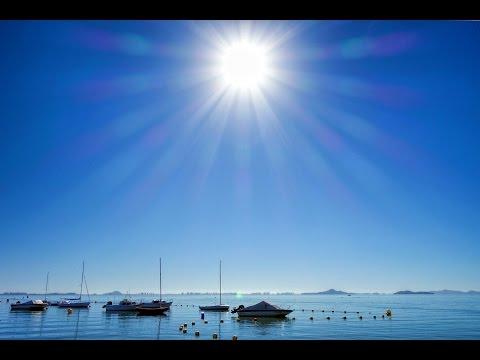 Sunny Beach at Los Alcazares, Mar Menor, Murcia, Spain