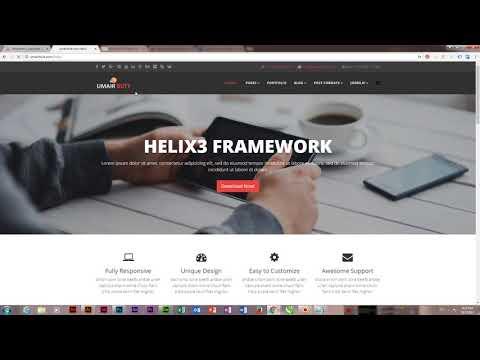 How To Change Dropdown Menu Color In Joomla Helix - Joomla Template Development