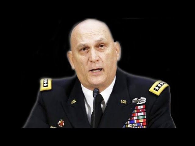 Four Star General Gets Pissed  Dont Tell me I Dont care about the Soldiers!